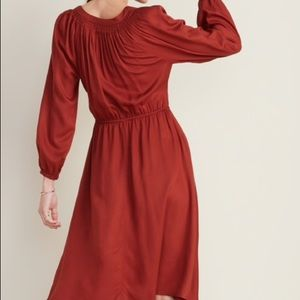 Old Navy Dresses - Old Navy Tassel-Tie Boho Midi Dress NWT Size XXL